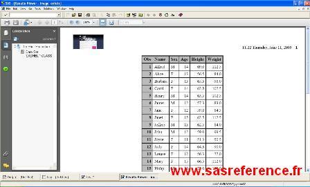 SAS, odf pdf, en-tête, image, exemple
